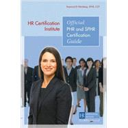HR Certification Institute Official PHR and SPHR Certificati..., 9781586441494  