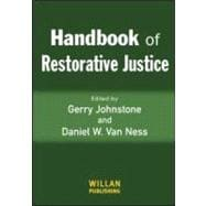 Handbook Of Restorative Justice, 9781843921509