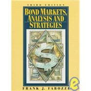 Bond Markets, Analysis and Strategies,9780133391510