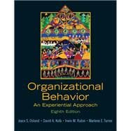 Organizational Behavior : An Experiential Approach,9780131441514