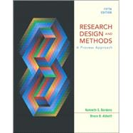 Research and Design Methods : A Process Approach
