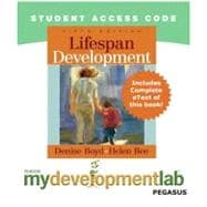 MyDevelopmentLab Pegasus with Pearson eText -- Standalone Access Card -- for Lifespan Development,9780205661527