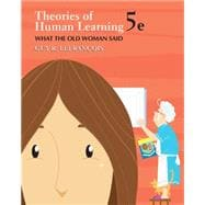 Theories of Human Learning What the Old Woman Said