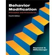 Behavior Modification : Principles and Procedures,9780495091530