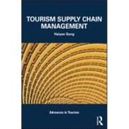 Tourism Supply Chain Management, 9780415581561  