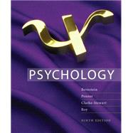 Study Guide for Bernstein/Penner/Clarke-Stewart/Roy's Psychology, 9th