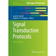 Signal Transduction Protocols, 9781617791598