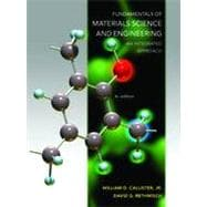 Fundamentals of Materials Science and Engineering: An Integrated Approach, 4th Edition,9781118061602