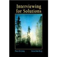 Interviewing for Solutions,9780534231606
