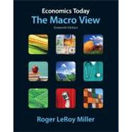 Economics Today The Macro View plus NEW MyEconLab with Pearson eText (1-semester access)-- Access Card Package