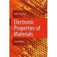 Electronic Properties of Materials,9781441981639