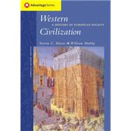 Cengage Advantage Books: Western Civilization A History of European Society, Compact Edition,9780534621643