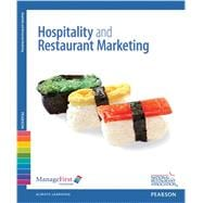 ManageFirst Hospitality & Restaurant Marketing with Answer Sheet