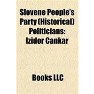 Slovene People's Party Politicians : Izidor Cankar