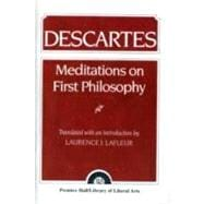 Descartes : Meditations on First Philosophy,9780023671708