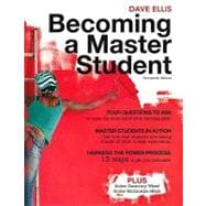 Becoming A Master Student,9781439081747