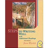Steps to Writing Well With Readings and Mla Updates,9781413001754