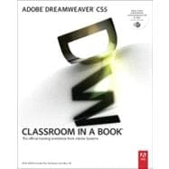 Adobe Dreamweaver CS5 Classroom in a Book,9780321701770