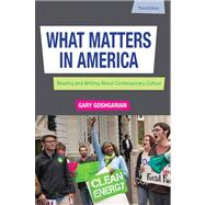 What Matters in America with New Mycomplab Etext Student Access Card,9780321881793