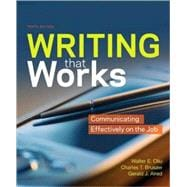 Writing That Works : Communicating Effectively on the Job,9780312541828