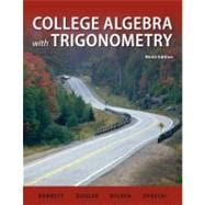 College Algebra with Trigonometry with MathZone Access Card,9780077941840