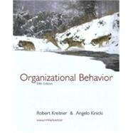 Organizational Behavior,9780072501841