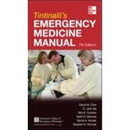 Tintinalli's Emergency Medicine Manual 7/E, 9780071781848