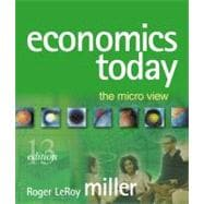 Economics Today: The Micro View MyEconLab Homework Edition plus eBook 1-semester Student Access Kit
