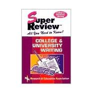 Super Review : College and University Writing