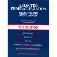 Selected Federal Taxation Statutes and Regulations, 2013 / The Income Tax Map, 2012,9780314281869