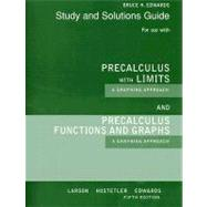 Student Solutions Guide for Larson/Hostetler/Edwards' Precalculus Functions and Graphs: A Graphing Approach, 5th and Precalculus with Limits: A Graphing Approach, AP* Edition, 5th,9780618851874