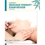 Pearson's Massage Therapy Exam Review,9780132741903