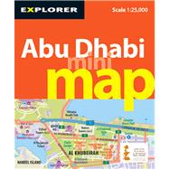 Abu Dhabi Mini Map : Auh_mmp_3, 9789948441915