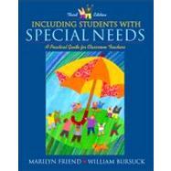 Including Students with Special Needs: A Practical Guide for Classroom Teachers,9780205331925