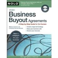 Business Buyout Agreements : Plan Now for Retirement, Death, Divorce or Owner Disagreements,9781413311952