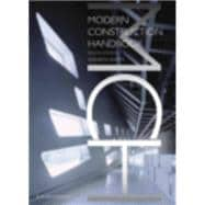 Modern Construction: Handbook, 9783211991954  