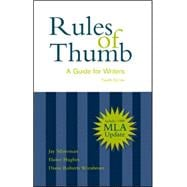 Rules of Thumb: A Guide for Writers With 1999 Mla Updates,9780072291957