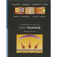 Introduction to Heat Transfer, 6th Edition, 9780470501962  