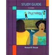 Study Guide for Exploring Psychology,9781429231992