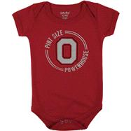 Ohio State Buckeyes Infant Red Powerhouse Pint Creeper