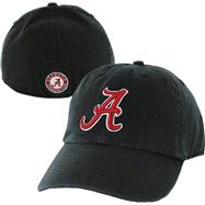 Alabama Crimson Tide Black '47 Brand Franchise Fitted Hat