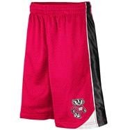 Wisconsin Badgers Red Youth Vector II Shorts