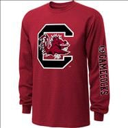 South Carolina Gamecocks  Cardinal Youth Double Hit II Long Sleeve T-Shirt
