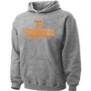 Tennessee Volunteers Youth Grey Tackle Twill Hooded Sweatshirt