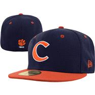 Clemson Tigers New Era 59FIFTY Basic Fitted Hat