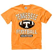 Tennessee Volunteers Youth Tn Orange Jock Football T-Shirt