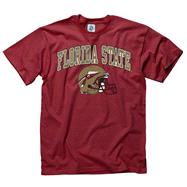 Florida State Seminoles Cardinal Football Helmet T-Shirt