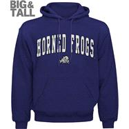 TCU Horned Frogs Big & Tall Purple Mascot One Hooded Sweatshirt