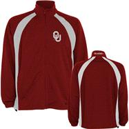 Oklahoma Sooners Cardinal Rival Full Zip Jacket