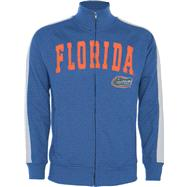 Florida Gators Royal Pinnacle Slub French Terry Track Jacket